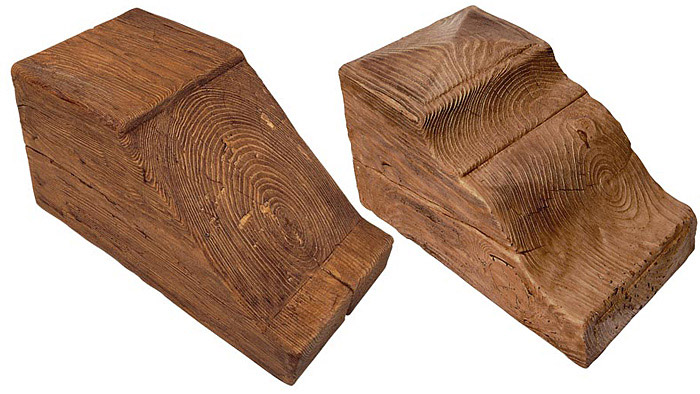 Escayola en pamplona navarra vigas paneles - Vigas decorativas imitacion madera ...