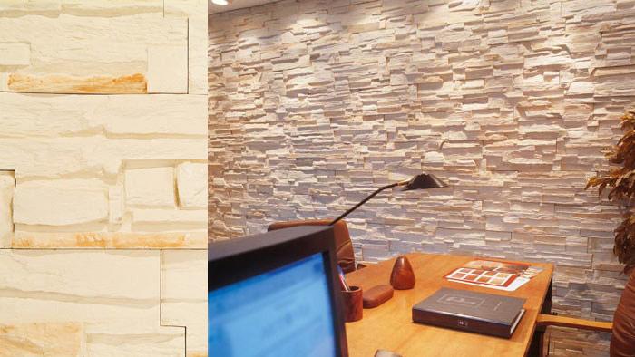 Escayola en pamplona navarra vigas paneles - Plaqueta decorativa piedra ...